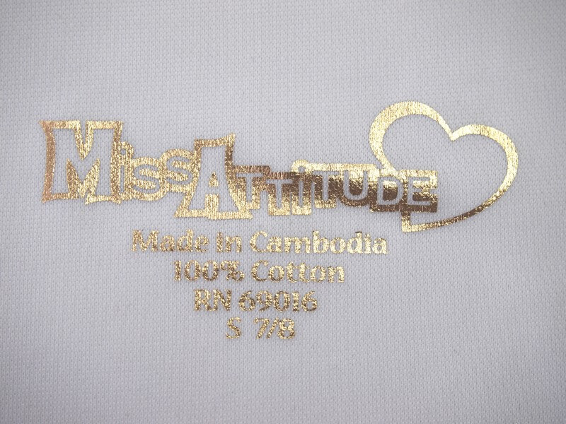 GOLD SILVER RAINBOW FOIL TRANSFER
